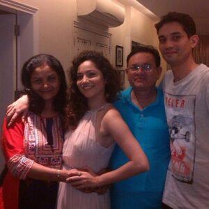 Ankita Lokhande Family: