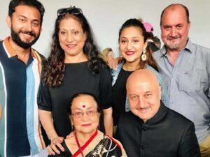 Anupam Kher's Family: