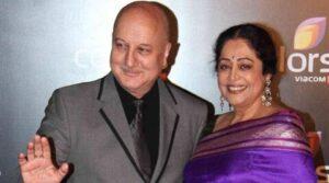 Anupam Kher's wife Kirron Kher (m. 1985-present)