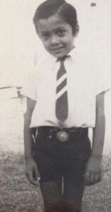 Anurag Kashyap's childhood image