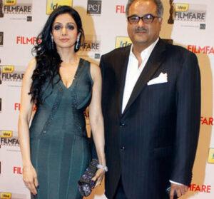 Arjun Kapoor's step mother Late Sridevi (Actress, Stepmother)