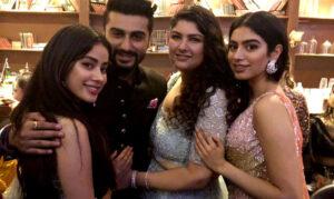 Arjun Kapoor's Sister (s) :- Anshula Kapoor (Real sister) Jhanvi Kapoor (Half sister), Khushi Kapoor (Half sister)
