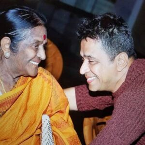 Arjun Sarja's Mother :-Lakshmi(Art Teacher)