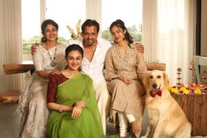 Arjun Sarja's family