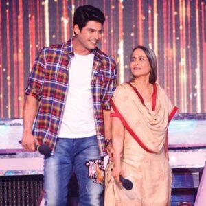 Siddharth Shukla and his mother Rita Shukla (Homemaker)