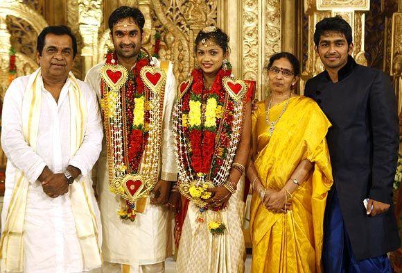 Brahmanandam Family: