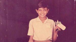 Childhood Image Deepika Padukone