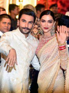 Deepika Padukone with her husband