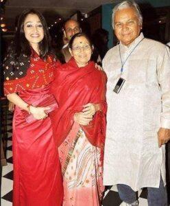 Disha Vakani's parents: