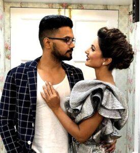 Hina Khan and Rocky Jaiswal a.k.a Jayant JAiswal (Supervising Producer)