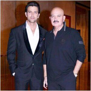 Hrithik Roshan's Father :-Rakesh Roshan (Filmmaker)
