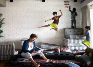 Hrithik Roshan's House/Living: