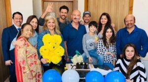 Hrithik Roshan's Family