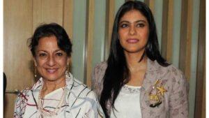 Kajol Devgn's mother Tanuja (Actress)