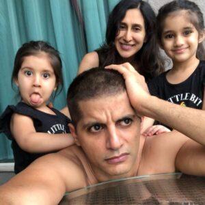 Karanvir Bohra's Family