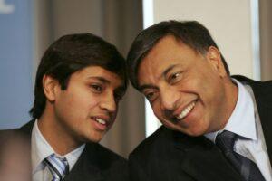 Lakshmi Mittal's Son (s) :-Aditya Mittal