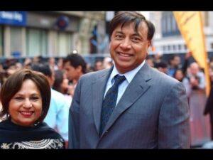 Lakshmi Mittal's Wife :-Usha Mittal