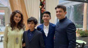 Madhuri Dixit Family:
