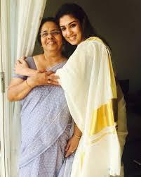 Nayanthara's Mother :-Omana Kurian