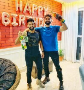 Parmish Verma and his brother