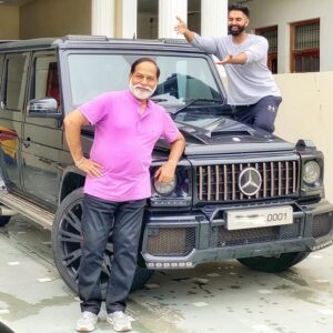 Parmish Verma and his father