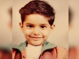Parmish Verma's childhood image