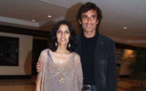 Rahul Dev's Wife :-Late Rina (m. 1998–2009)