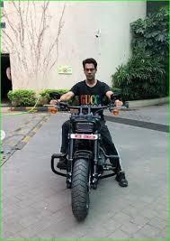Rajkumar Rao's Bike - Harley-Davidson Fat