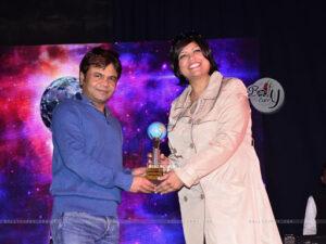 Rajpal Yadav at Mumbai Global Achiever's Award