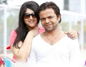 Rajpal Yadav and his wife Radha Yadav (m. 2003)