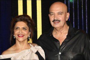 Rakesh Roshan's Wife :- Pinky Roshan