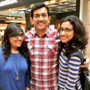 Sanjeev Kapoor;s daughters Kriti and Rachita