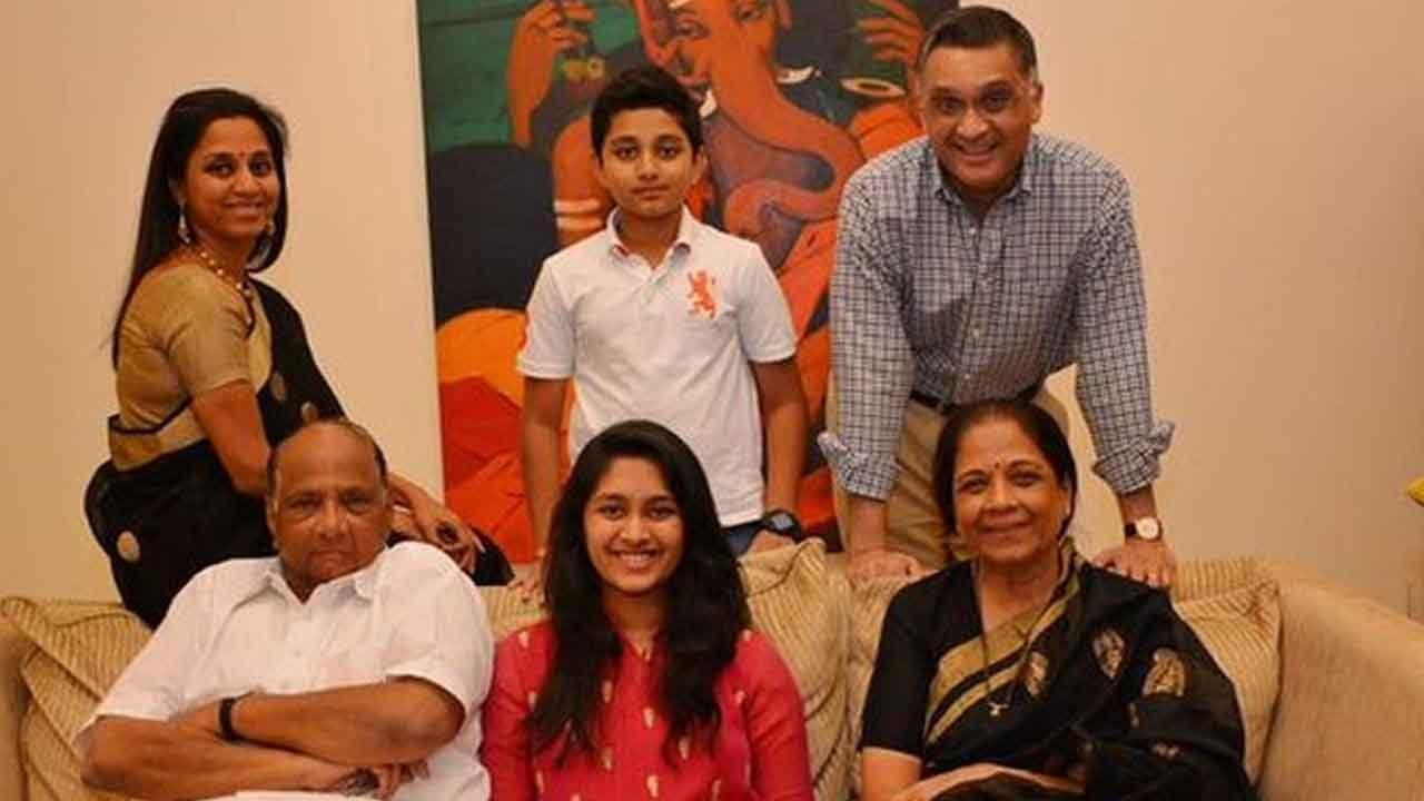 Sharad Pawar Family: