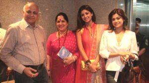 Shilpa Shetty Family: