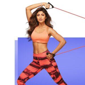 Shilpa-Shetty- yoga-pose