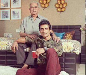 Sonu Sood's Father :-Shakti Sood