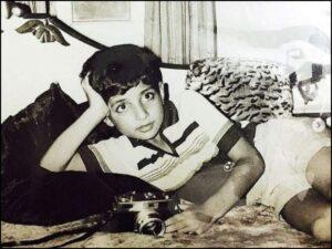Sonu Sood's Childhood Image