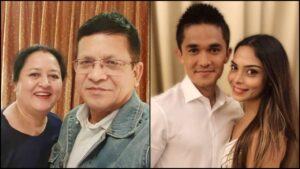 Sunil Chhetri Family: