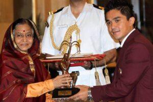 Sunil Chhetri Awards and Achievements: