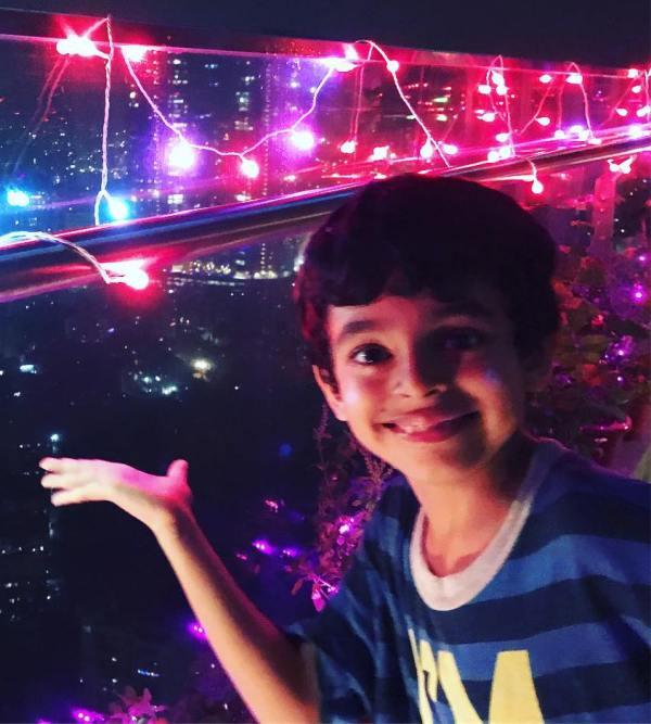 Sunil Grover son Mohan Grover