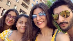 Sushmita Sen's Family: