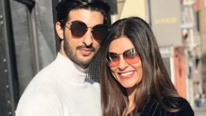 Sushmita Sen's Husband :-Rohman Shawl