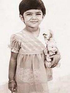 Sushmita Sen's childhood image