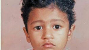 Vicky Kaushal's Childhood Image