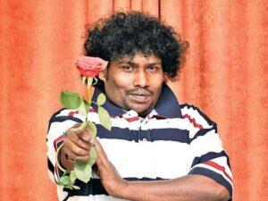Yogi Babu Image with rose