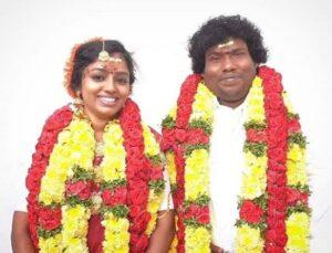 Yogi Babu's Wife Manju Bhargavi