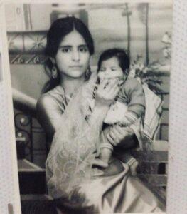 Hina Khan Childhood Image: