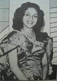 Madhuri Dixit Childhood IMAge