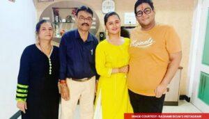 Rashmi Desai Family: