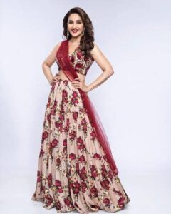 Madhuri Dixit Body Measurements, Height, & Weight: